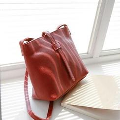 JUSTONE - Slip-Tab Genuine-Leather Cross Bag