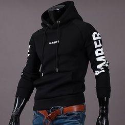 Seoul Homme - Printing-Sleeve Hoodie