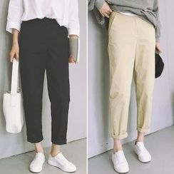 Jeans Kingdom - Plain Baggy Pants