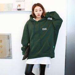 Seoul Fashion - Hooded Oversized Sweat Shirt