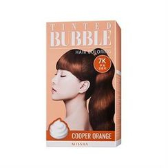 Missha 谜尚 - Tinted Bubble Hair Coloring (#7K Cooper Orange)