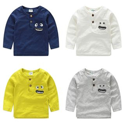 WellKids - Kids Long-Sleeve Appliqué Top