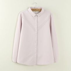 Tangi - Plain Fleece Lined Shirt