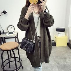 FR - Chunky Knit Long Cardigan