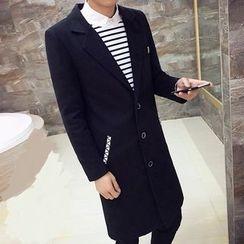 Bay Go Mall - Fleece-lined Lapel Coat