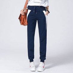 Lina - Color Block Sweatpants