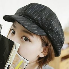 卿本佳人 - 條紋報童帽