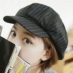 Hats 'n' Tales - Stripe Newsboy Cap