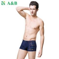 AnB - Set of 3: Printed Boxers