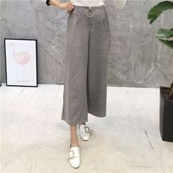 Octavia - Cropped Wide Leg Pants