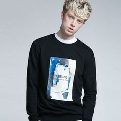 HEIZE - Print Sweatshirt