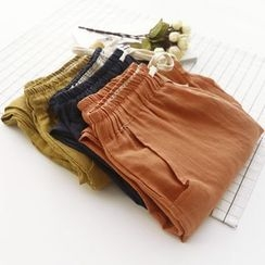 Bonbon - Linen Cotton Capri Harem Pants