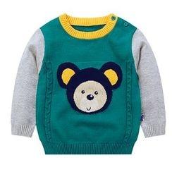 Ansel's - 童裝撞色毛衣