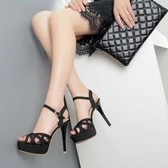 Mancienne - Platform High Heel Sandals