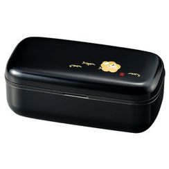 Hakoya - Hakoya Slim One Layer Lunch Box Kuro Hanko Usagi