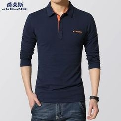 Jazz Boy - Long-Sleeve Polo Shirt