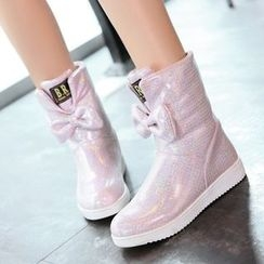 Sidewalk - Kids Bow Short Boots