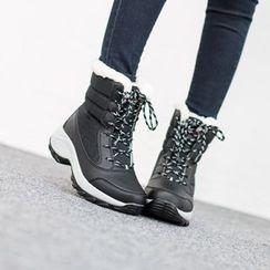 VIVIER - Faux-Fur Padded Boots
