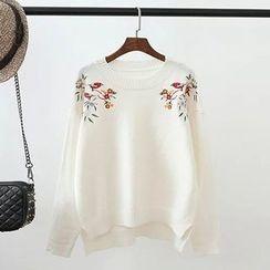 TOJI - 刺繡毛衣