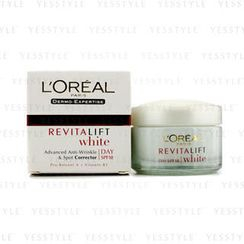 L'Oreal - Dermo-Expertise RevitaLift White Day Cream SPF 18
