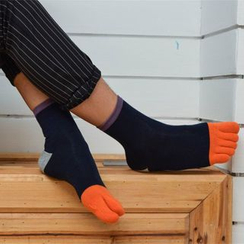 Cloud Femme - Color Block Socks