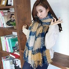 Good Living - Color-Block Scarf