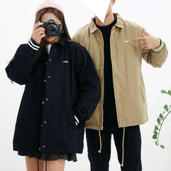 Seoul Homme - Couple Snap-Button Jacket