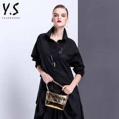 Y:Q - Oversized Dip-Back Shirt