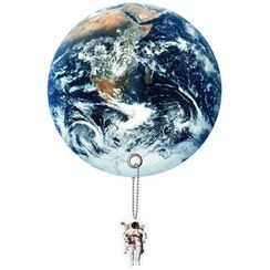 DREAMS - Planet Uchiwa (Shaped Hand Fan) (Earth)
