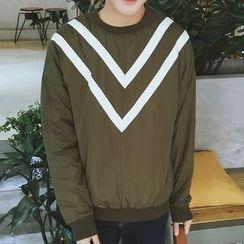 Bay Go Mall - Striped Sweatshirt