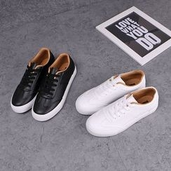 Klesky - Faux Leather Sneakers