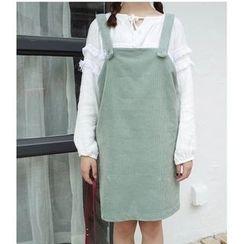 MATO - Corduroy Jumper Skirt