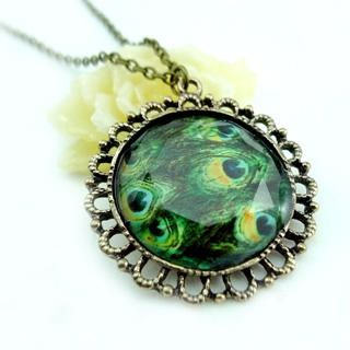 Fit-to-Kill - Peacock Gemstone Necklace