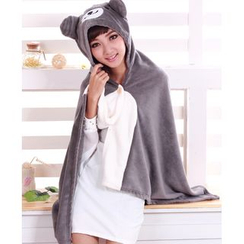 Cloud Forest - Cartoon Hooded Cape