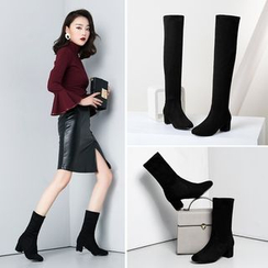Shoes Galore - Short Boots / Over-the-Knee Boots