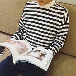 Bay Go Mall - Striped Pullover