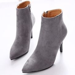 Monde - Pointy Ankle Boots