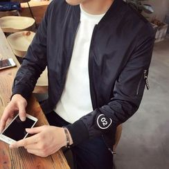 Denimic - Numbering Zip Jacket