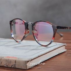 Lose Show - Chunky Frame Oval Glasses