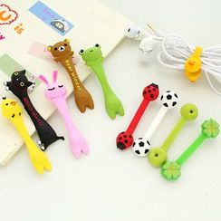Lazy Corner - Set of 2: Cartoon Earphone Winder