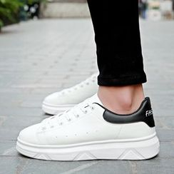 Shino - Platform Lace-Up Sneakers
