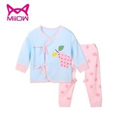 MiiOW - Baby Set: Wrap Front Jacket + Pants