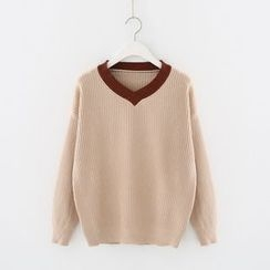 Meimei - V-Neck Sweater