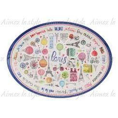 Aimez le style - Aimez le style Oval Plate Passages de Paris