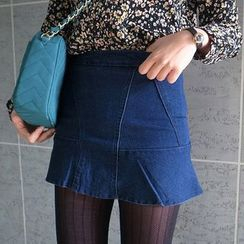 Isadora - Denim Miniskirt