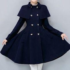 AGA - 羊毛長款大衣