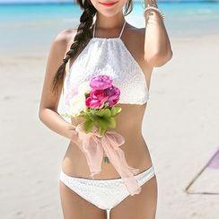 Seabird - Lace Halter Bikini