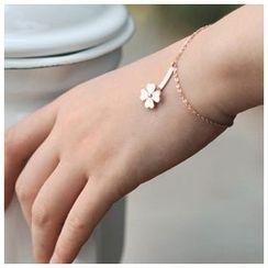 Claudette - Clover Bracelet