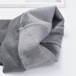 MITU - 加絨抓毛內搭褲