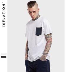 Newin - Short-Sleeve Pocketed T-Shirt